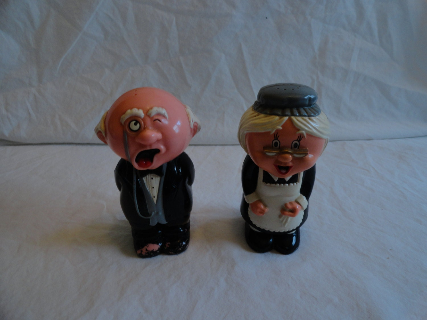 Butler And Maid Salt And Pepper Shakers By Fun Damental Too