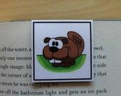 Magnetic Bookmark: Skippy, the Beaver