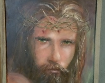 Jesus of Nazareth (framed oil painting)