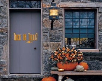 Trick or Treat? - Wall or Window Decal
