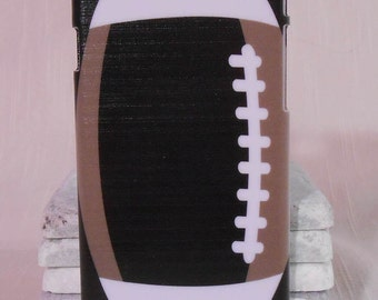 Football phone case in school colors