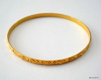 22k gold bangle bracelet chudi handmade jewelry rajasthan india