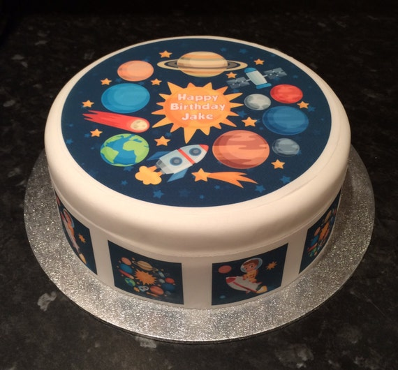 solar system cake toppers - photo #15