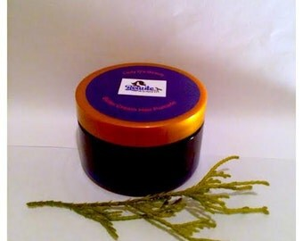 Natural Hair Cream--Butter Cream Hair Pomade 4 oz. --Ideal for both Natural and Relaxed Hair, Organic.