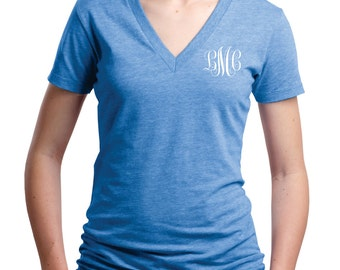 Personalized Embroidered/ Monogram Perfect V-Neck