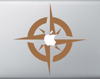 Compass Rose MacBook Decal