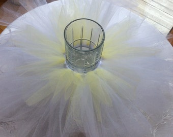 Tutu centerpiece ring for Baby, Bridal or Wedding