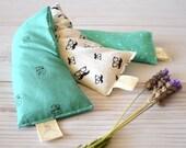 eye pillow  yoga eye pillow  handmade eye pillow  lavender aromatherapy  heat pack  relaxing lavender pillow Active