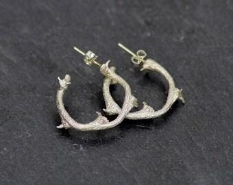 WAG IN BIKKIE - Earring of silver - Creolen