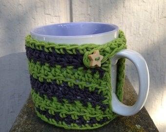 Slytherin mug cozy