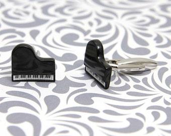 Piano Musician Music Cufflinks