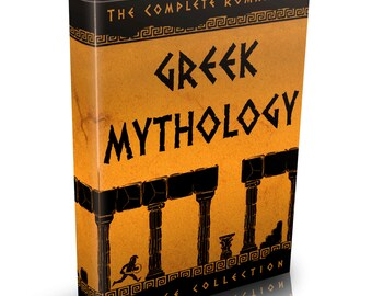 Greek & Roman Mythology - 140 Old Books on DVD - Gods Bulfinch's Achilles Plato Legend Tales Greece and Rome