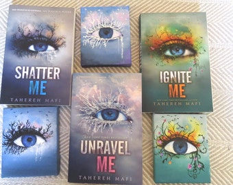 Shatter Me Trilogy 4x5 Hand painted Fan Art Canvases MADE TO ORDER