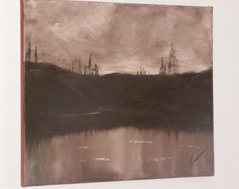 "TWILIGHT, 20x16"" oil painting"