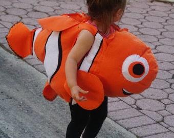 Nemo like fish costume baby to adults, kids costumes
