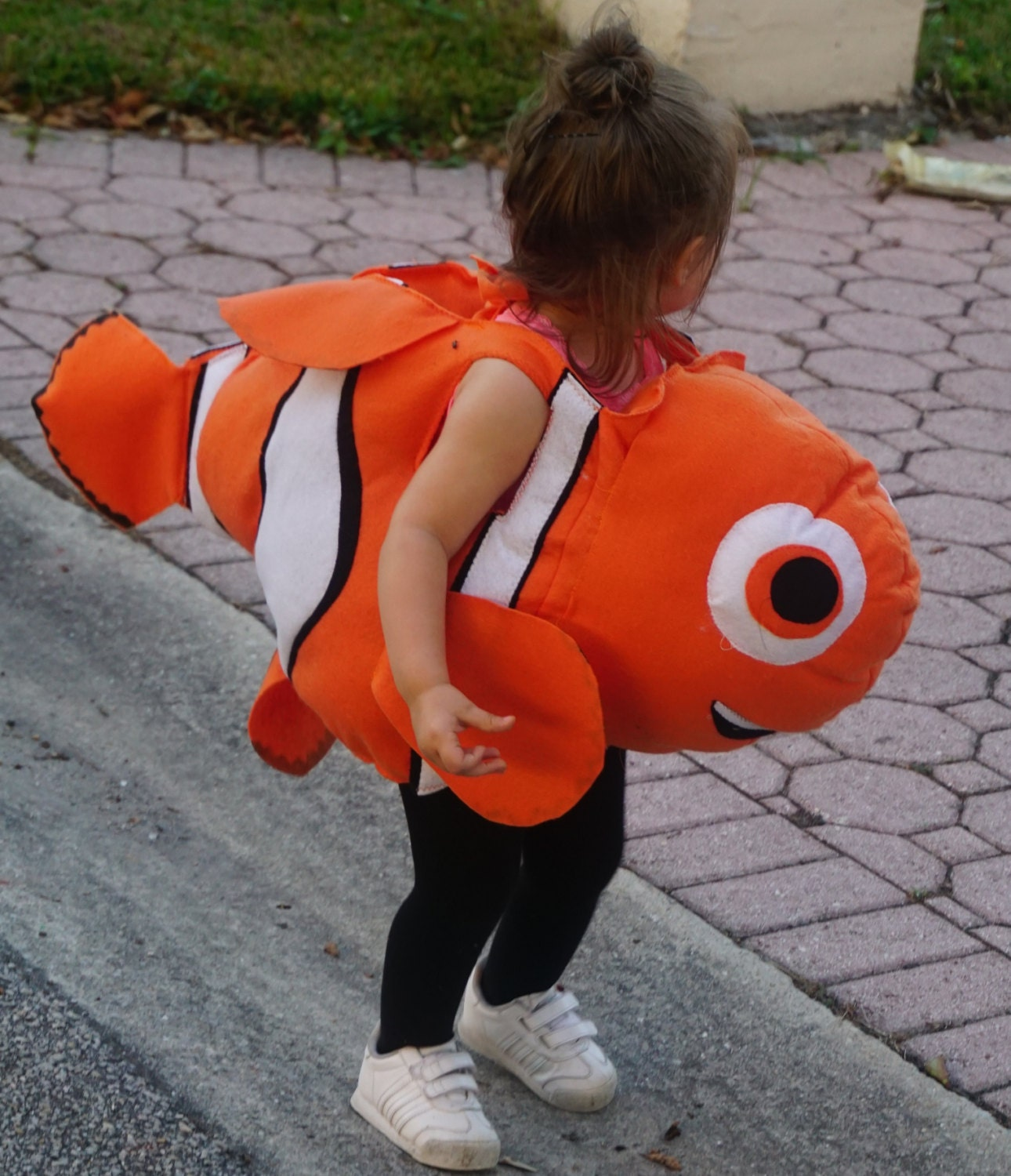 Nemo like fish costume baby to adults kids costumes for Fish costume adult