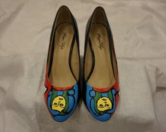Lady Blue Shoes