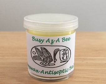Beeswax Antiseptic Balm with Pure Essential Oils + Vitamin E  1oz
