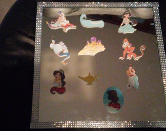 24 pieces of cupcake toppers, cake pop toppers. Aladdin, Jasmine  and friends
