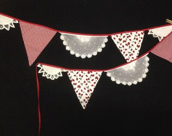 Strawberry Fields Bunting Flag