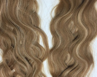 Human Hair Extensions Skin Weft - Wavy