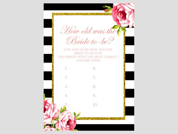 How Old Was The Bride To Be Guess Bride Age By