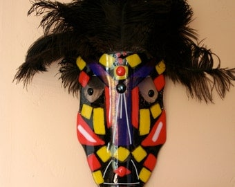 mad mask, glass