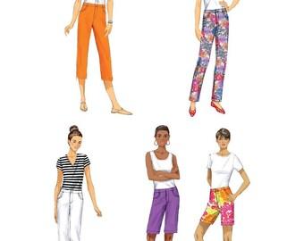 Butterick Pattern B6061 . Misses' Pants. Size 6,8,10,12,14