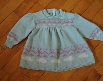 Vintage Knit Sweater from Israel