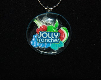 Jolly Rancher necklace