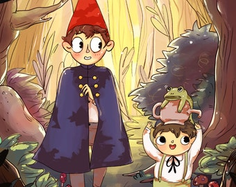 Over the Garden Wall: Art Print