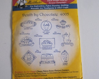 Iron Transfers  Death By Choclate
