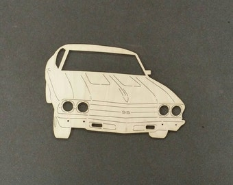 1969 CHEVELLE SS Car Wall Art(Birch Wood)