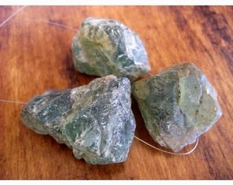 Raw Apatite Stone, Apatite Rough Stone, Apatite GemStone, Raw Gemstones, 3 Pieces, 22 To 25mm Each