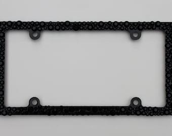 Black or Orange/Black (Please specify) License Plate Frame