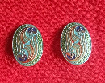 Vintage earrings Germany