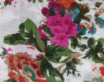 Print Your design Cotton Voile fabric 8 x 8 inches Sample custom fabric