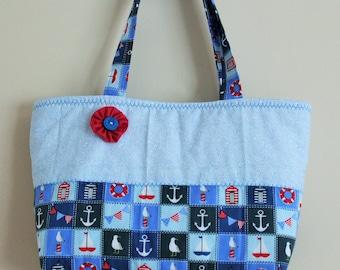 Seaside Themed Summer Bag
