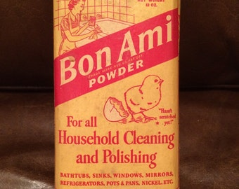 Vintage Bon Ami Cleaning Powder