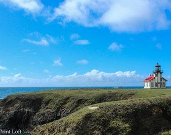 Point Cabrillo Lighthouse and Mendocino Coast, Caspar, California