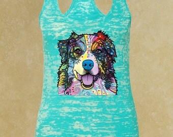 Pug LIfe tank top racer back burnout /Lovers tank / ladies tank top / Animal shirt / Dog Shirt