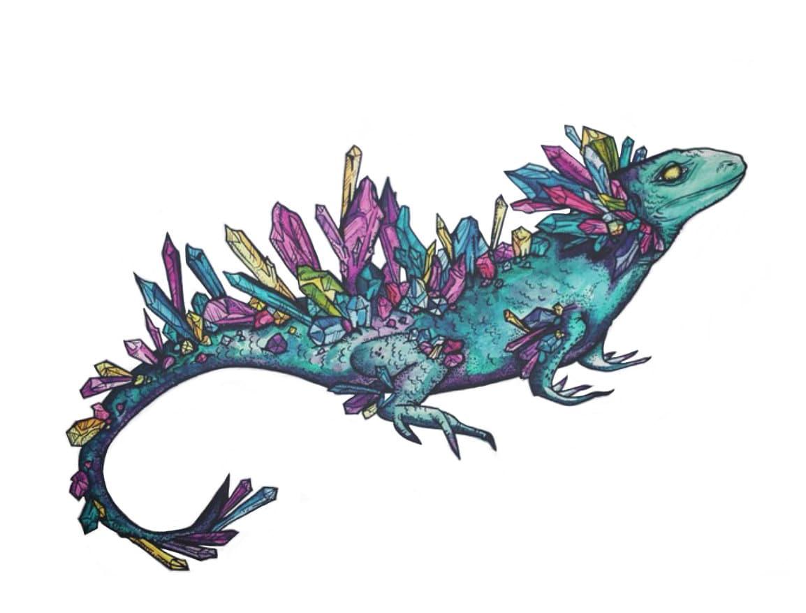 U S Lizard Mystic Crystal ...