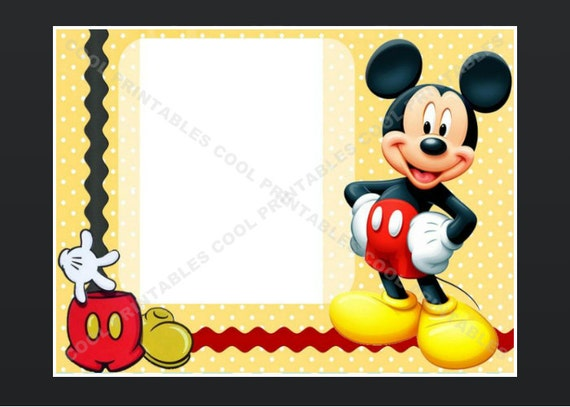 Mickey Mouse Clubhouse Invitation Template for awesome invitation sample