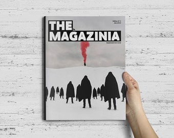 The Magazinia Indesign Template