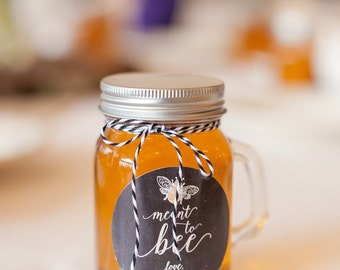 Honey favors personalized 12ct Honey Wedding favor,Bridal shower favor,Baby shower favor,Birthday,Christening,Anniversary,Meant to bee
