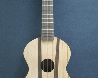small custom acoustic Three-Stringed Guitar