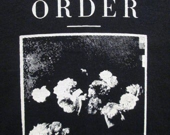 New Order T-shirt ~~FREE SHIPPING~~ Joy Division Power Corruption & Lies Black