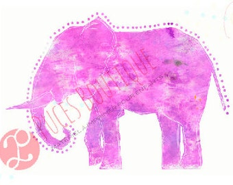 Lili The Elephant (violet)