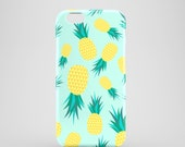 Pineapples phone case / tropical iPhone 7 case / iPhone 7 Plus / fruity iPhone 6S case / iPhone and Samsung Galaxy S models / Galaxy S7