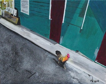 "Puerto Rican Art - Giclee Art Print - ""El Caminito"""